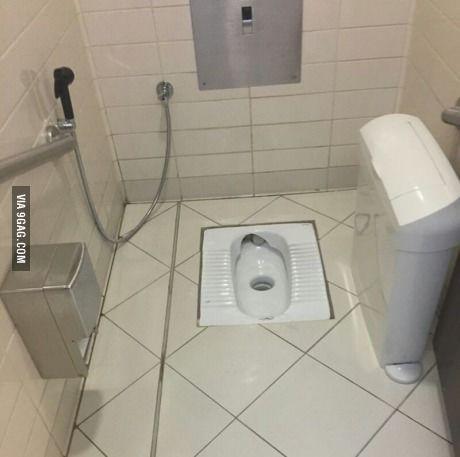 Dubai Airport Bathroom Where The F K Do I Shit In 2021 Toilet And Bathroom Design Bathroom Bathroom Interior Design 1x1 minimalist bathroom squat toilet