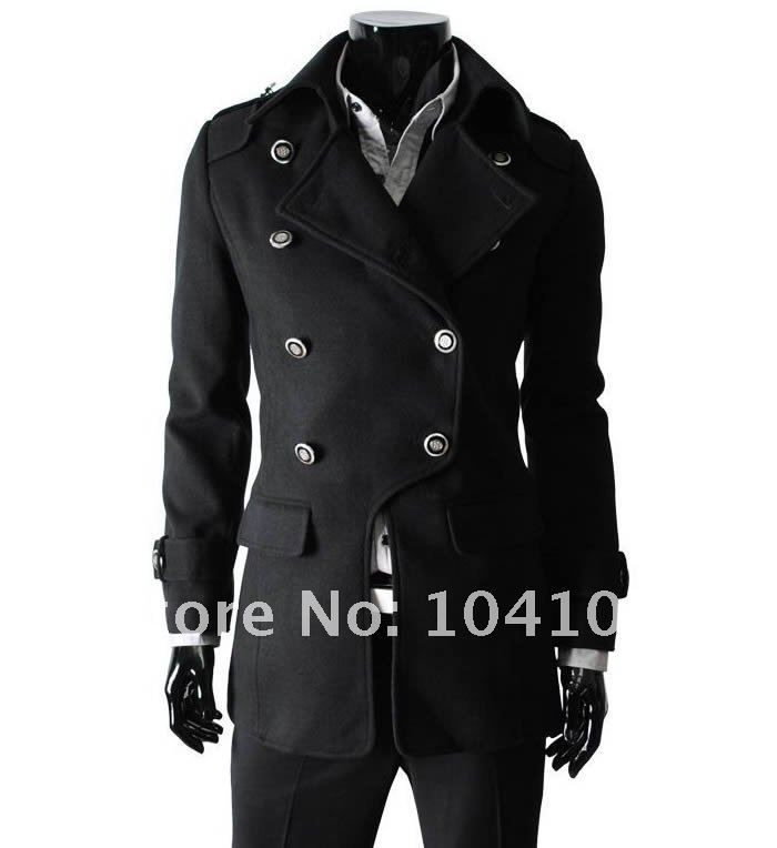 Military Style Coat Mens