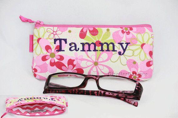 Handmade Reading glasses Case.