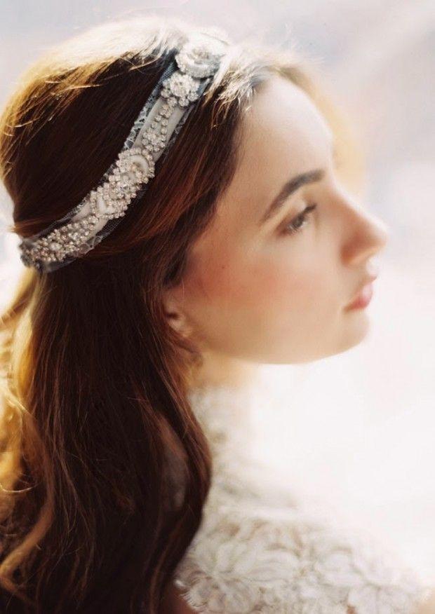 preciosos tocados de novia para verte como una princesa | tocados y