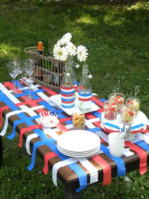 Pin by Kathryn Allen on 4th of July/ Memorial Day | July 4th, 4th of Patriotic Backyard Bbq Decoration Ideas Html on fiesta decorations ideas, pool party decorations ideas, cinco de mayo decorations ideas, graduation decorations ideas, halloween tree decorations ideas, strawberry shortcake decorations ideas, beer decorations ideas, cocktail party decorations ideas, weddings decorations ideas, birthday decorations ideas, anniversary decorations ideas,