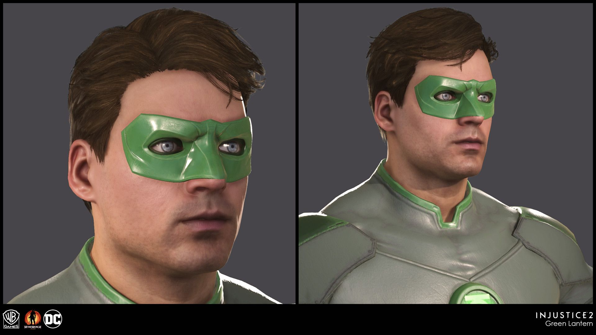 Character Model And Materials Built By Our External Partners And Polish By Our Internal Character And Environme Injustice Injustice 2 Green Lantern Hal Jordan