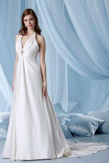 Neck Halter Wedding Dress | Fashion | Pinterest | Halter neck