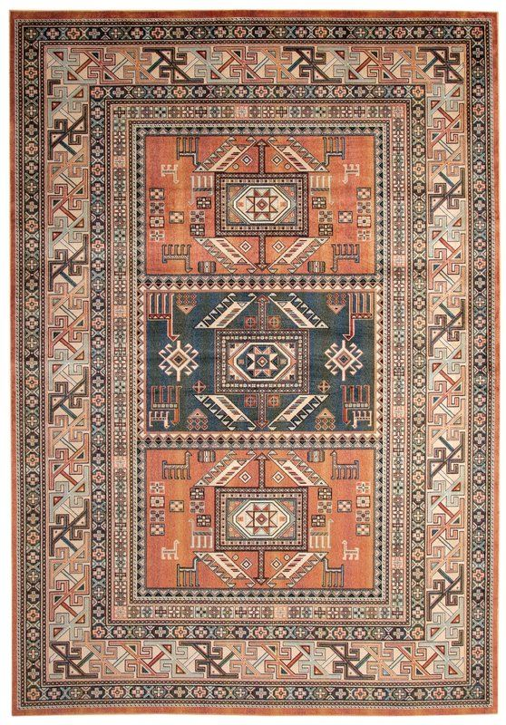 Ovid Tangerine Rust Area Rug In 2019 Seattle House