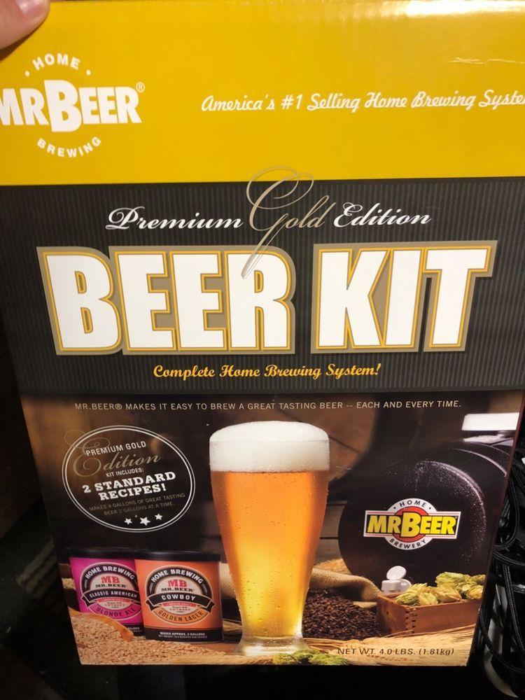 16++ Mr beer craft beer kit gold edition information