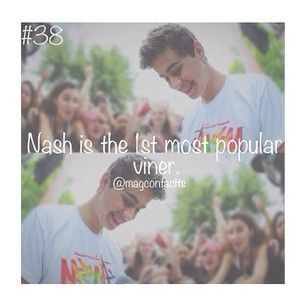 What's your favorite vine from Nash?