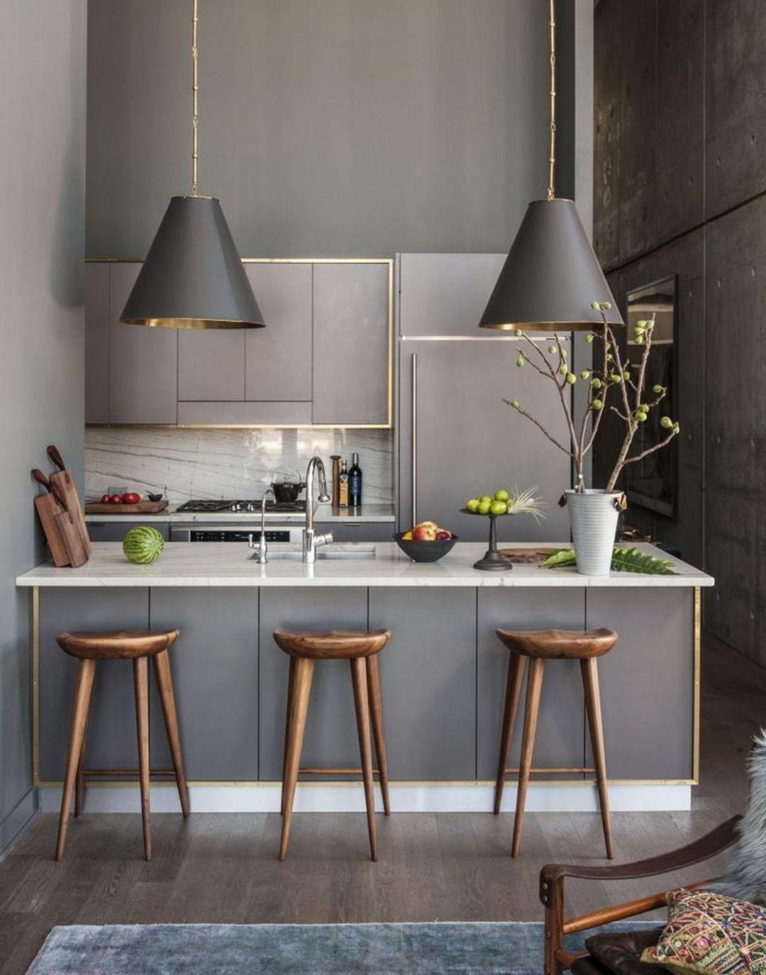 best 15 amazing small modern kitchen design ideas kitchens rh pinterest com