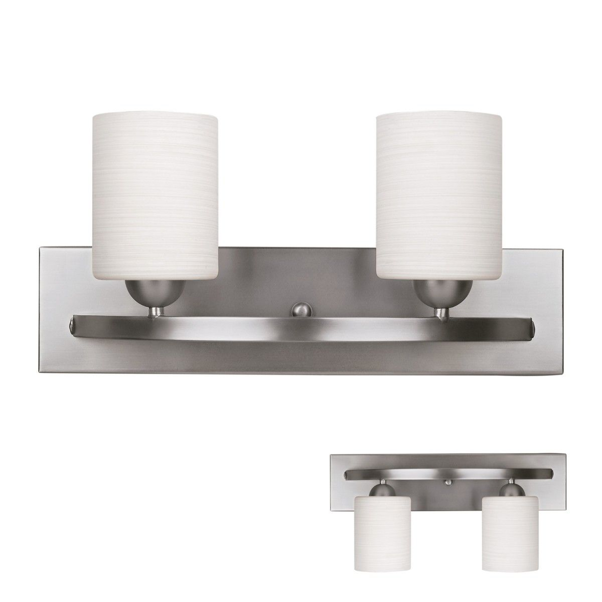 interesting bathroom light fixtures%0A Bennington IVL     BPTGD Lakeland   Globe Vanity Bath Light Bar Fixture   Brushed Nickel
