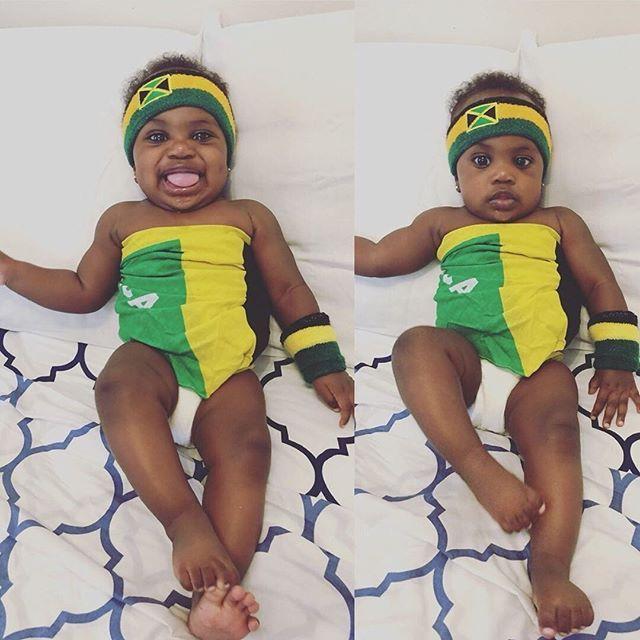 So adorable @zidane_zara #babygirl #naturallyperfectkids # ...