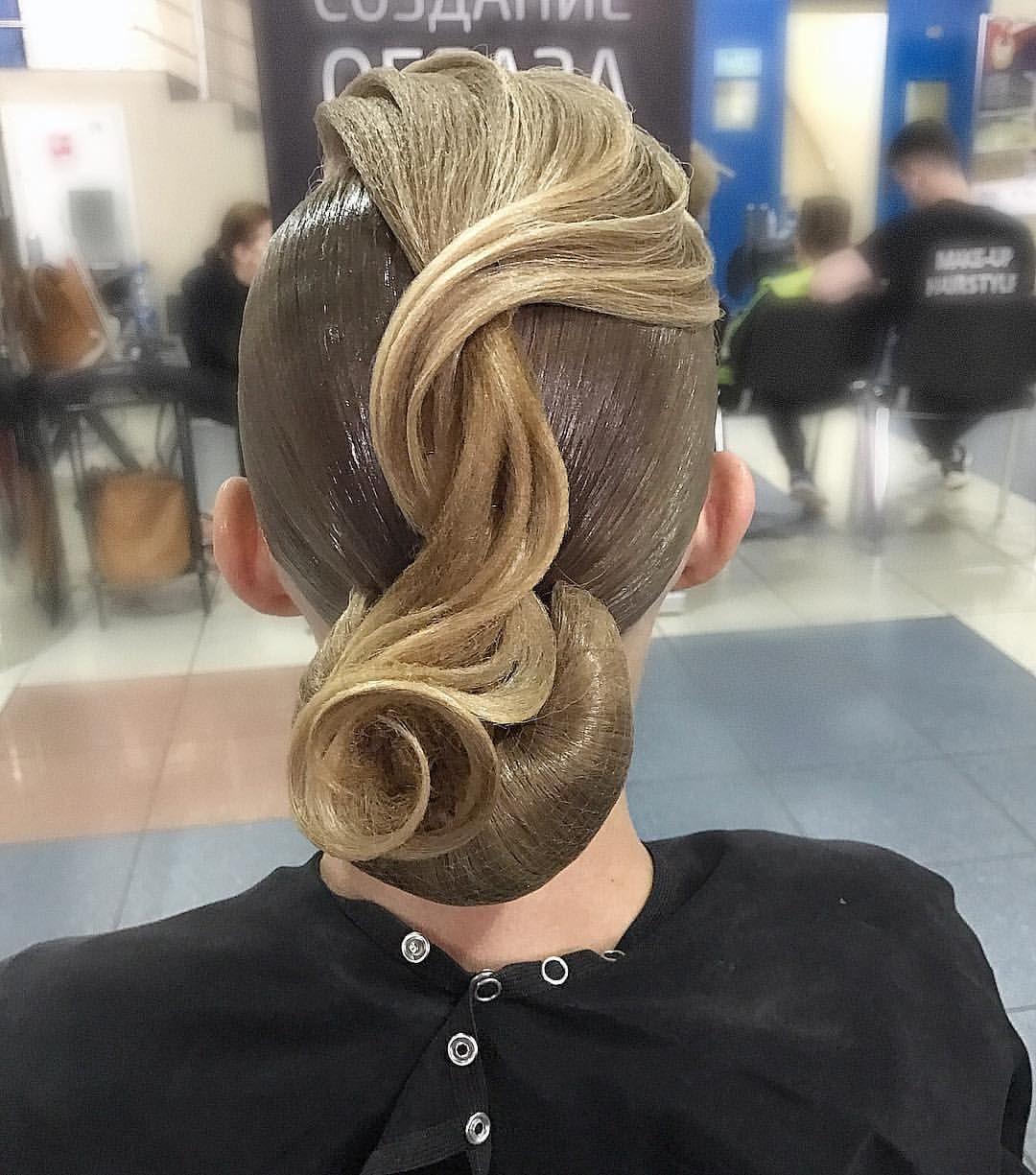 Pricheska Dlya Desyati Tancev Imidzh Studiya Artecreo Competition Hair Dance Hairstyles Hair Rhinestone