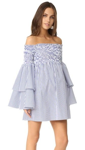 38a70d015d Caroline Constas Apollonia Off Shoulder Dress | SHOPBOP | Summer ...
