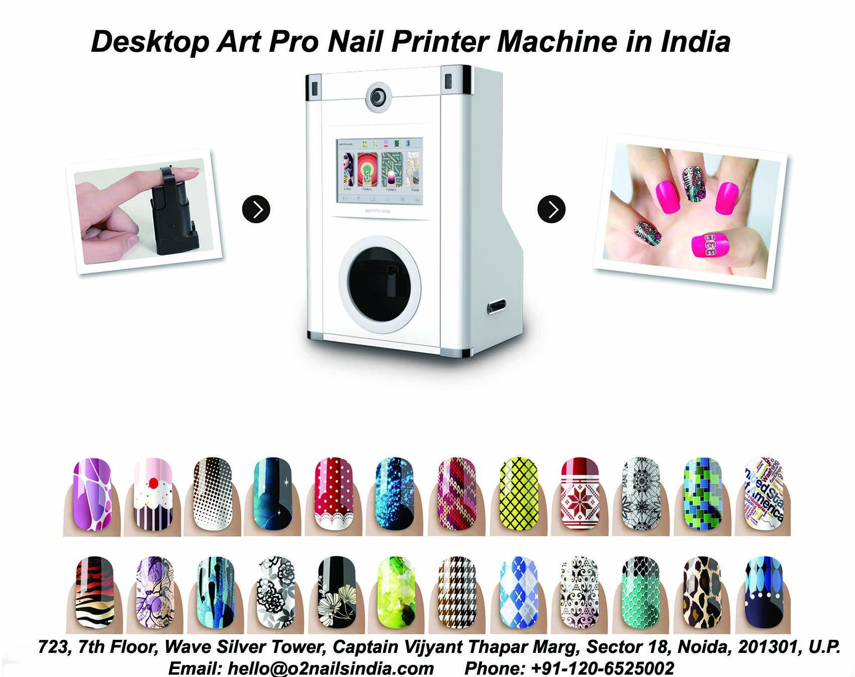 Desktop Art Pro Nail Printer Machine in India | desktop artpro nail