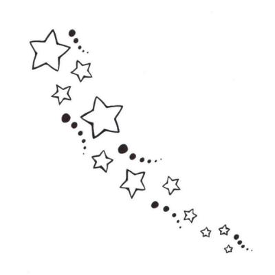 Stars Tattoo 1 By Kittiemeow On Deviantart Star Tattoos Star Tattoo Designs Moon Star Tattoo