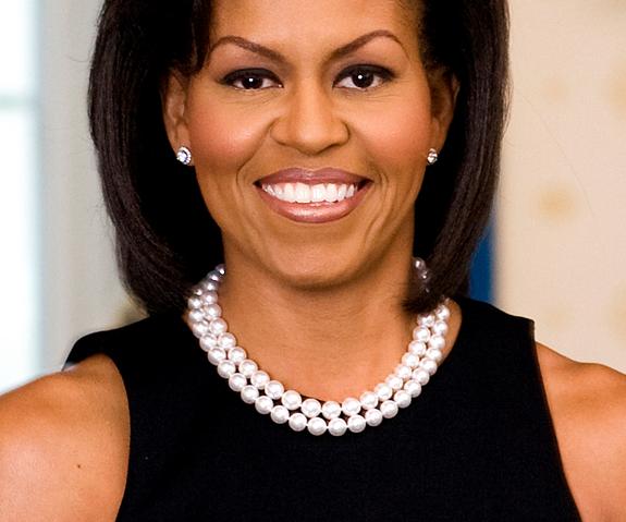 Michelle Obama Bangs Inaugural Ball Michelle Obama Fashion Michelle Obama Michelle