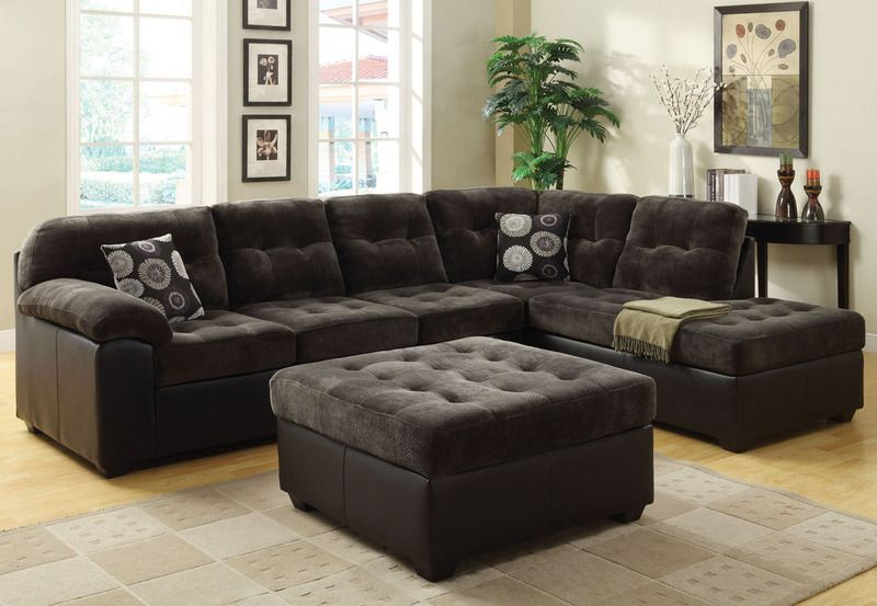 acme olive gray champion fabric button tufted sectional sofa chaise rh pinterest ca
