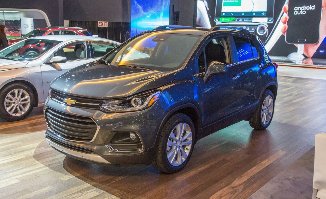 2017 chevrolet trax small changes for chevy s smallest cuv rh pinterest com