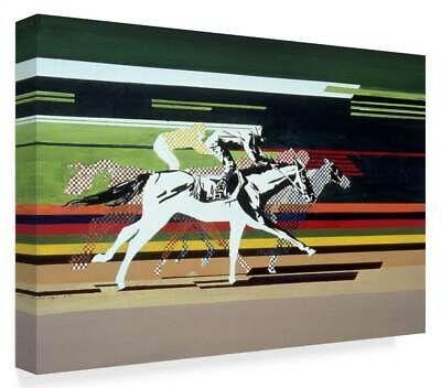 Beverly Doyle 'Race Horses' Canvas Art [ID 3767018] (ebay link)