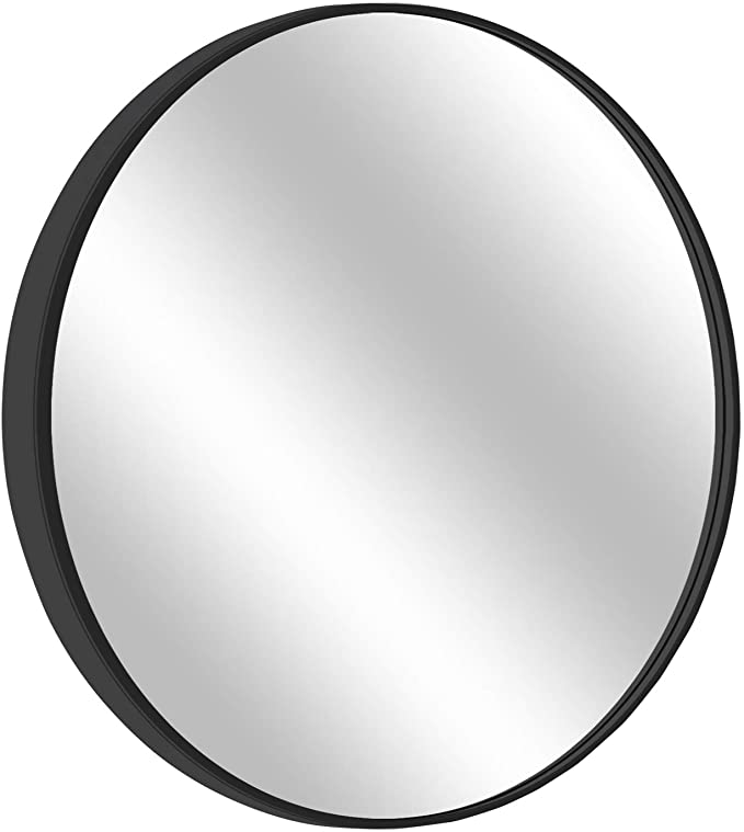 Amazon Com Morigem Round Mirror 31 5 Wall Mirror Wall Mounted