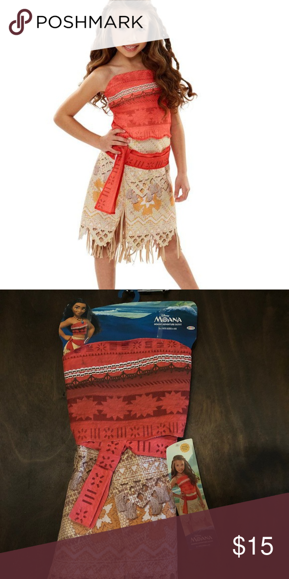 f8a9cb94f Disney Moana Girls Adventure Outfit Disney Moana Girls Adventure Outfit  Relive the adventure of Moana This