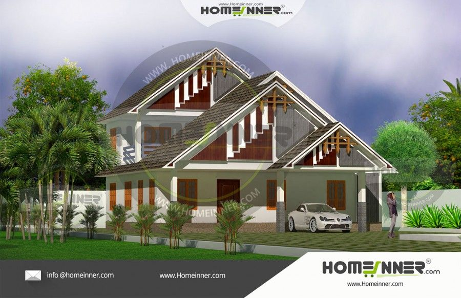 4 Bedroom Double Storey House Designs in