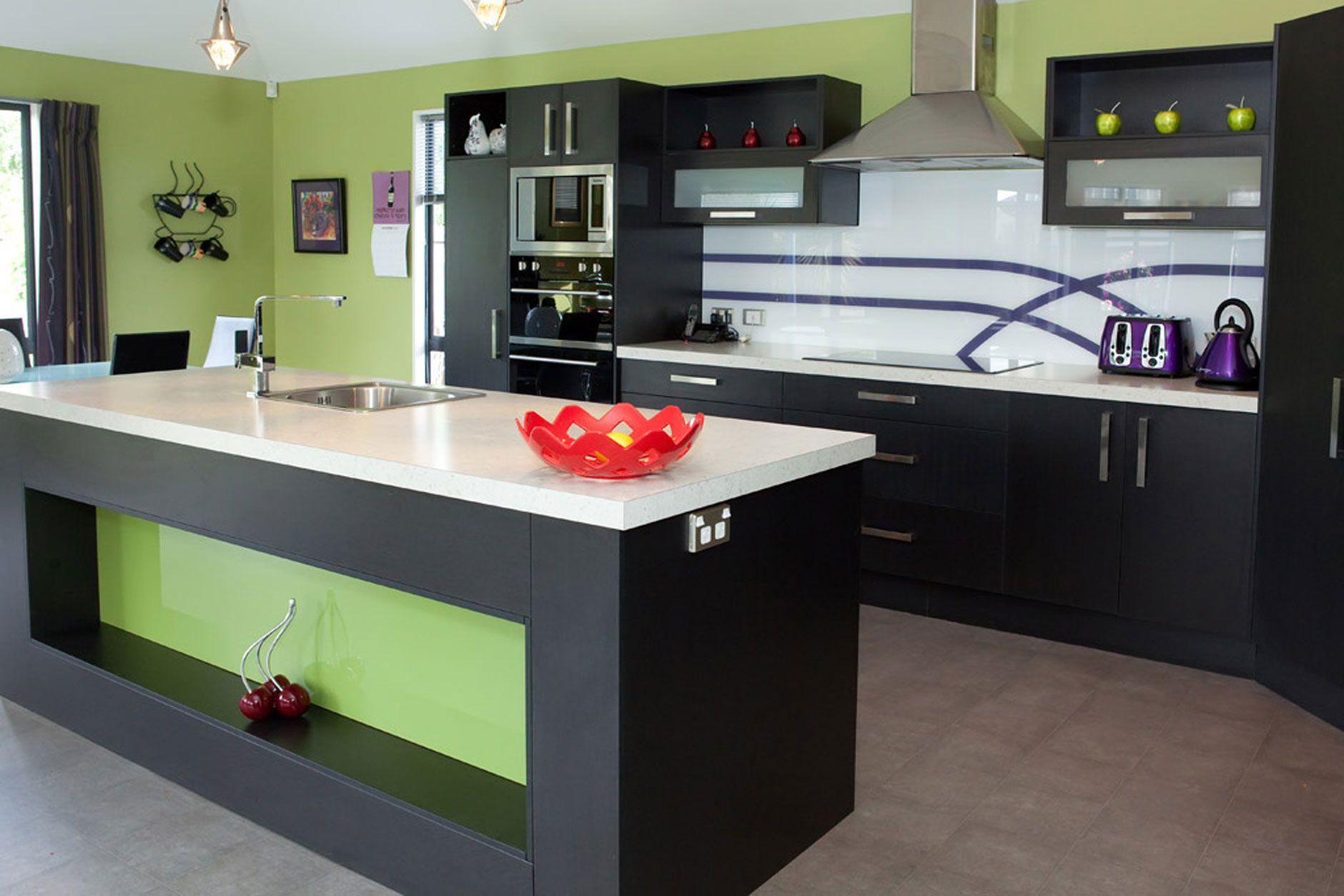 kitchen modern and spacious kitchen design white cupboard and rh pinterest co uk