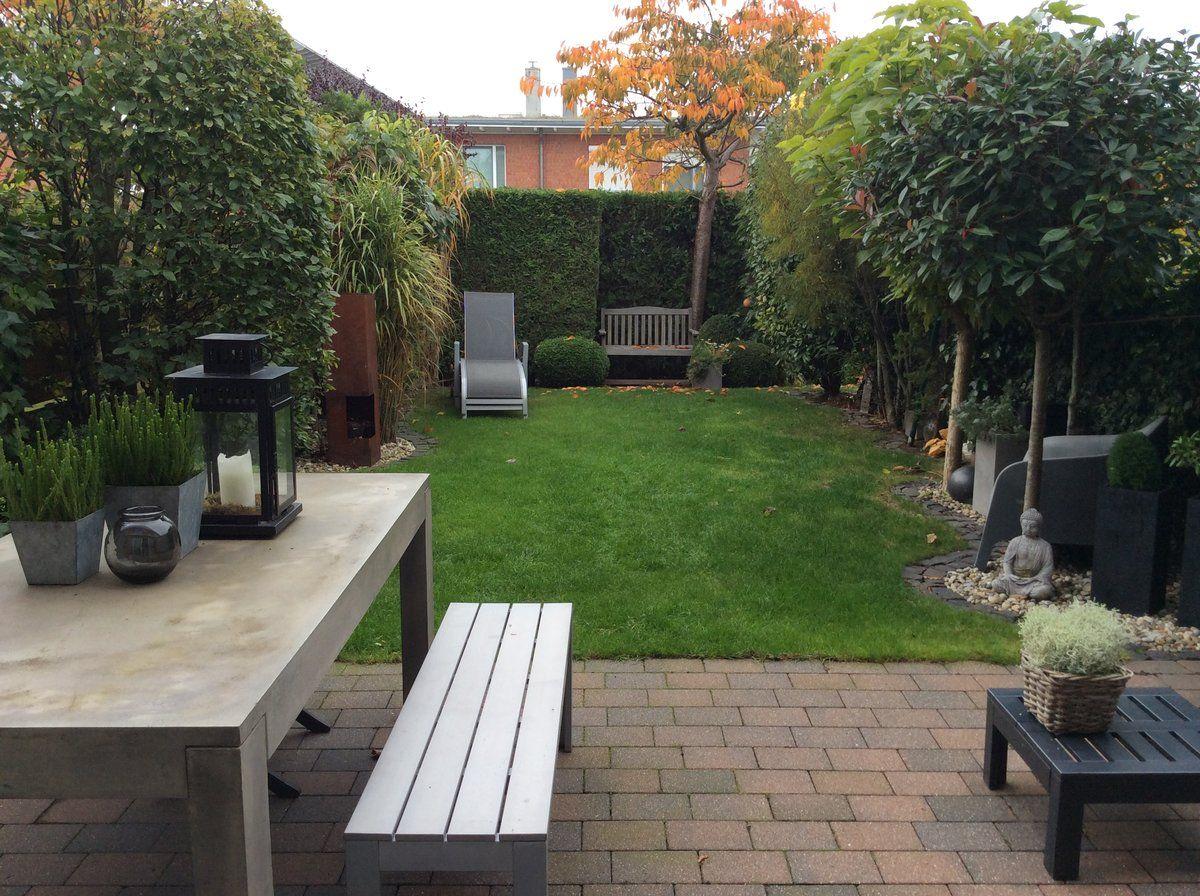 Sitzplatz Im Kleinen Reihenhausgarten | Reihenhaus Garten | Pinterest |  Reihenhausgarten, Sitzplatz Und Kleine Gärten