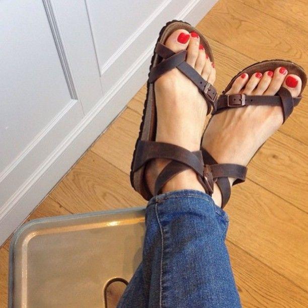 33d0b53b8a0 Birkenstock Yara Habana Oiled Leather Sandals