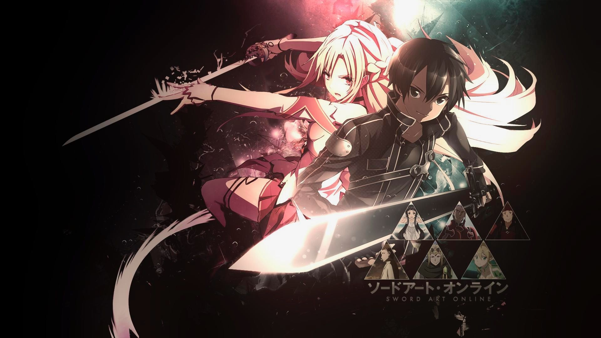 Pin by abc on anime Sword art online wallpaper, Sword