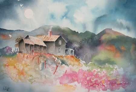 Idee Par Bev Chandler Sur Watercolors Of Structures Architecture