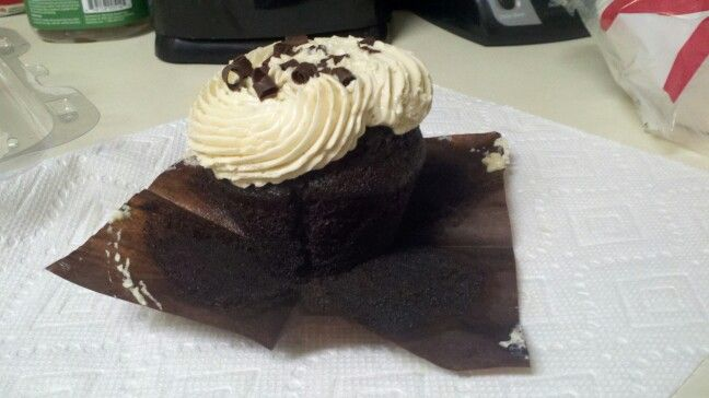 Black Russian cupcake #etherealcupcakes