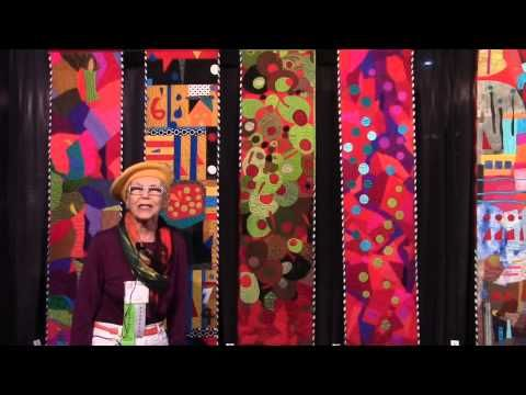 Go Tell It at the Quilt Show! interview with Yvonne Porcella - YouTube