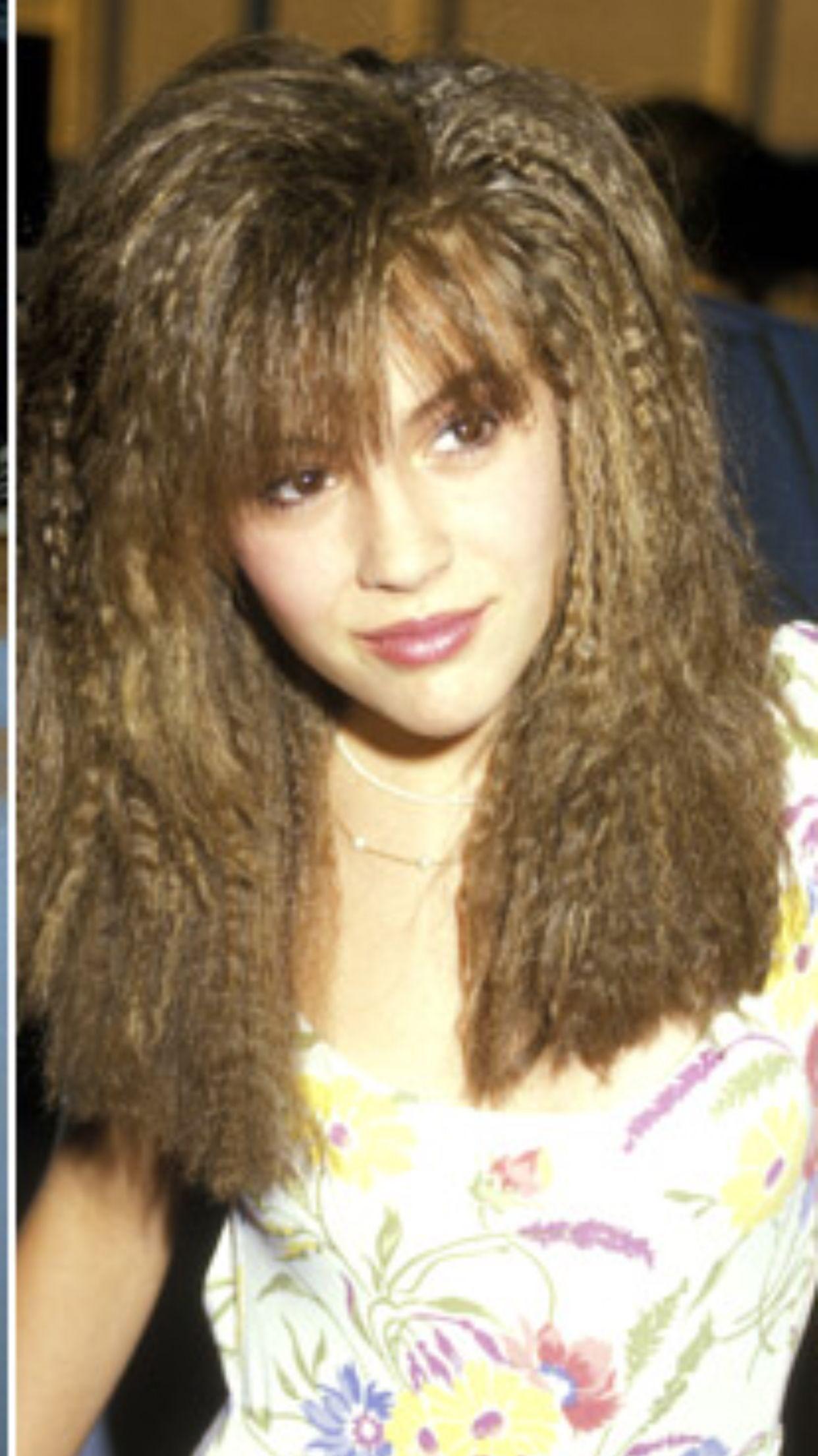 Alyssa Milano Alyssa Milano Hair Alyssa Milano Young 80s Hair