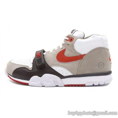 new style 30223 85c52 Men s Nike Fragment Design x Nike Court Air Trainer 1 Mid Premium SP Nike  French Open 806942-282 Brown White