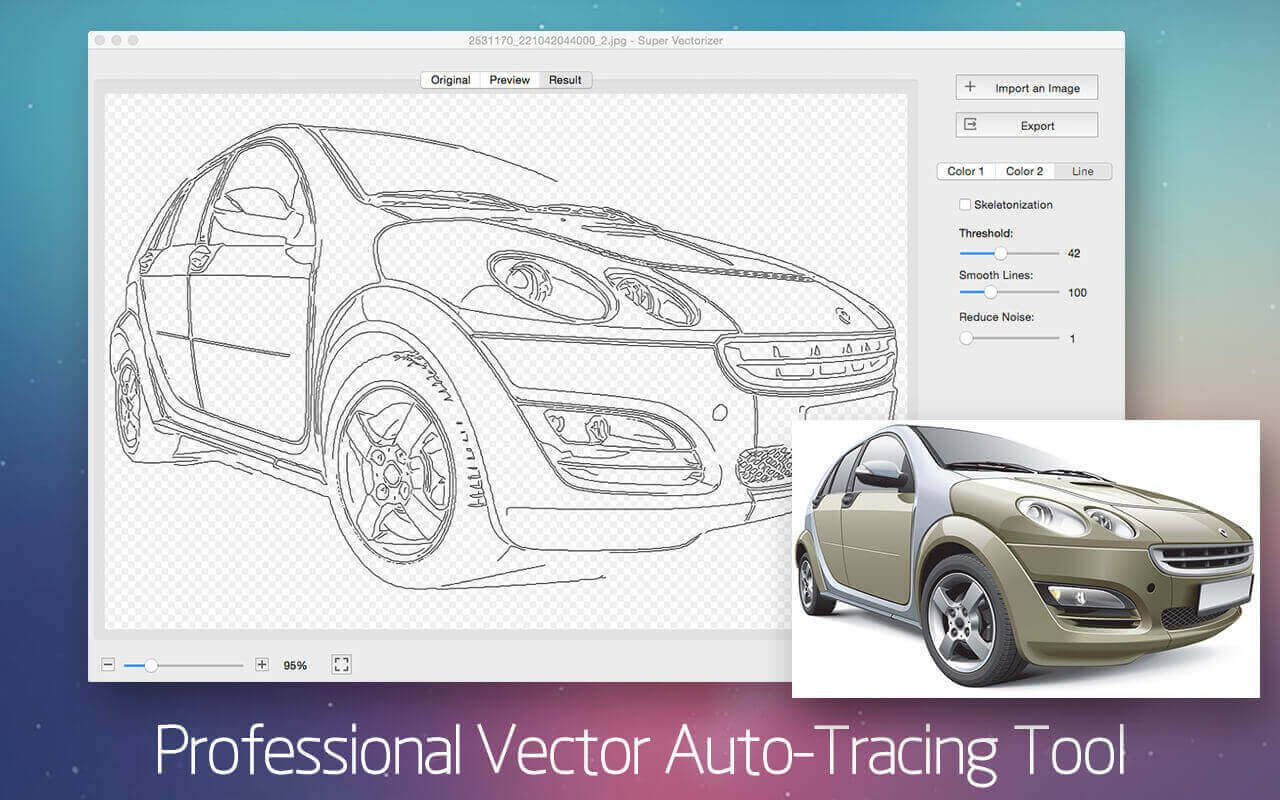 AutoTrace Almost Any Image with Super Vectorizer 2 for