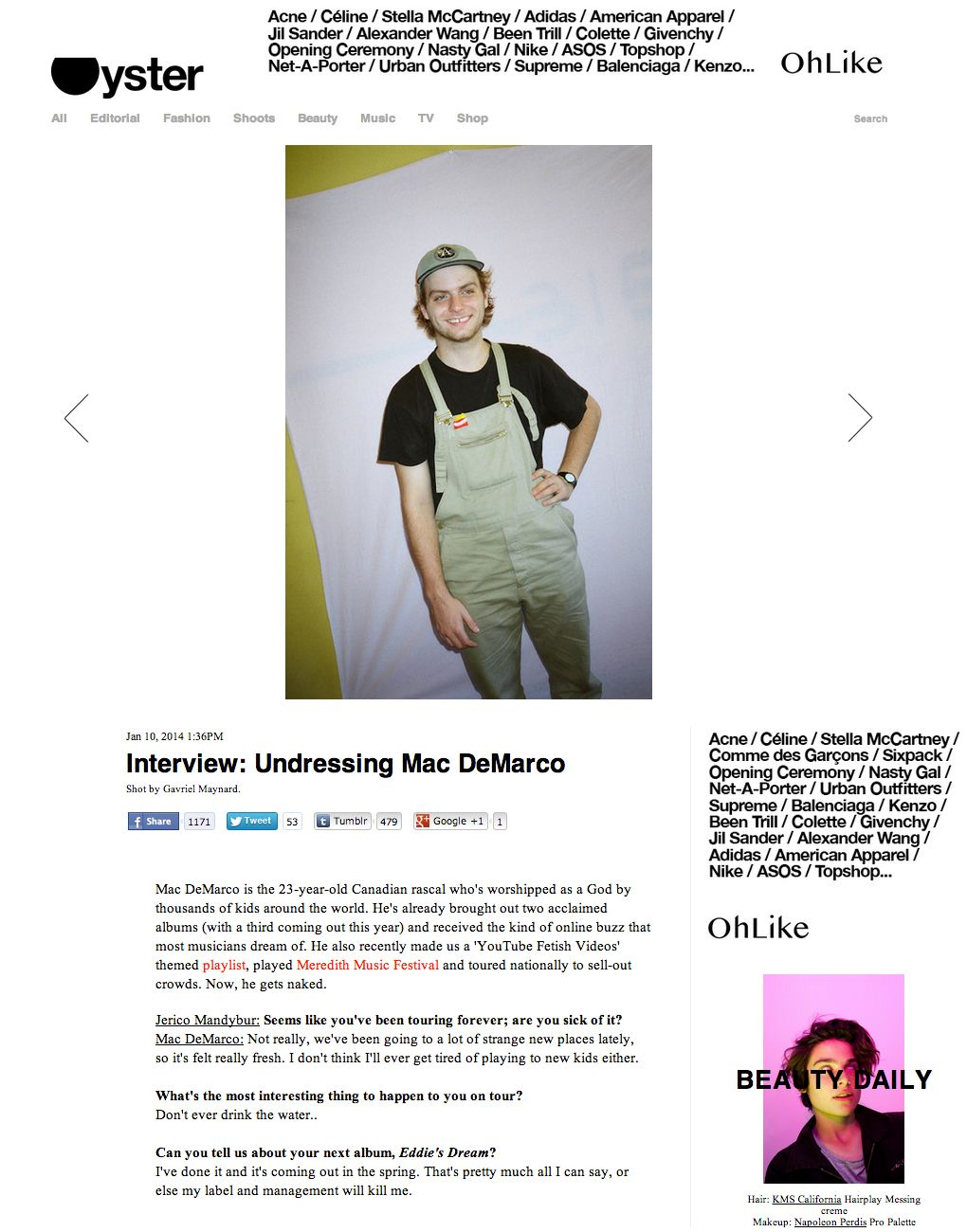 17 best images about mac demarco we the o jays and 17 best images about mac demarco we the o jays and interview