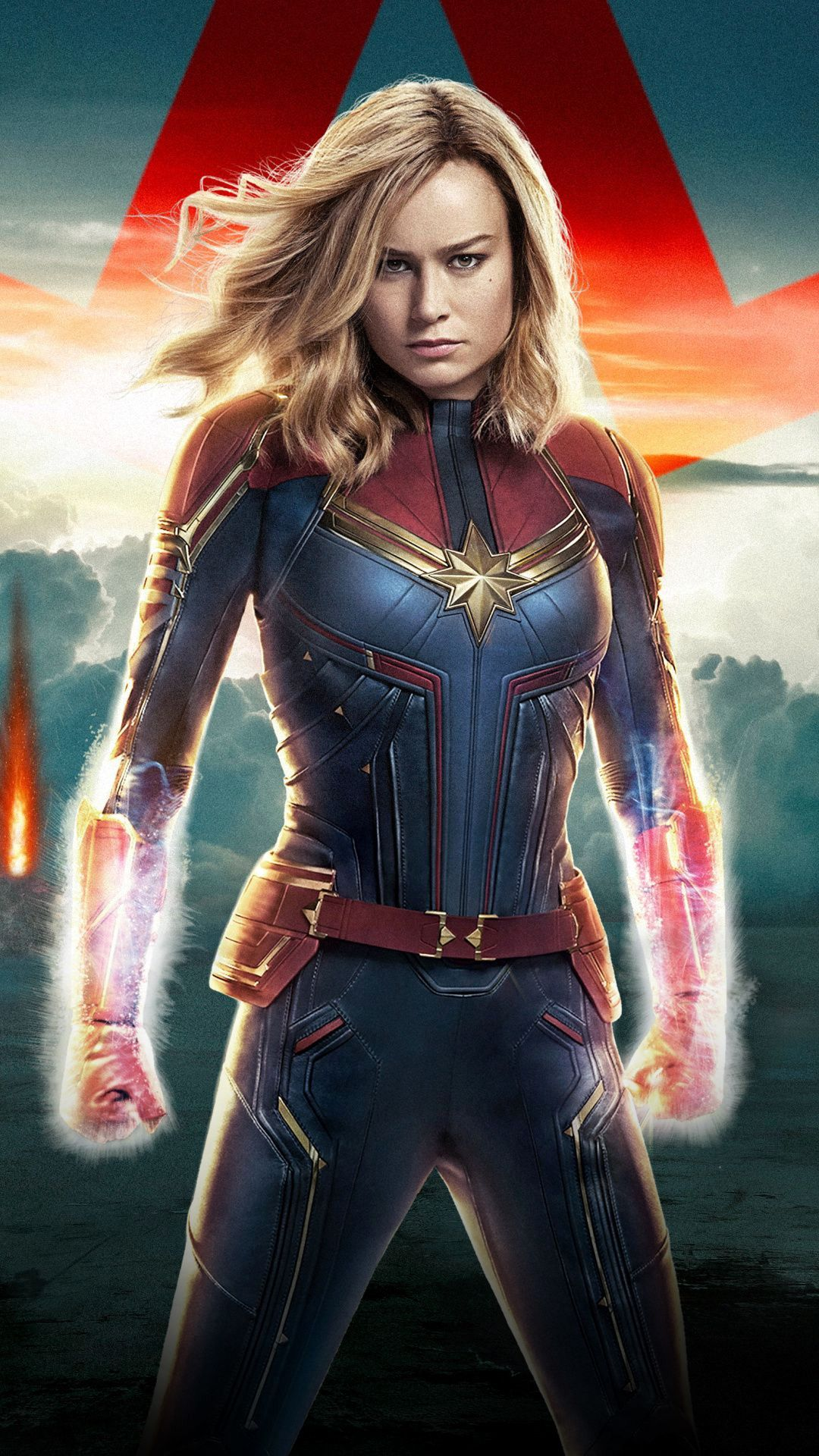 Captain Marvel Wallpaper Elegant Captain Marvel 2019 Movie Confident Wallpaper In 2020 Captain Marvel Marvel Cinematic Captain Marvel Carol Danvers