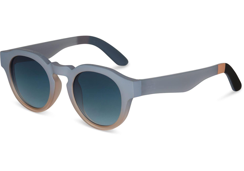 BrytonTravelerByTOMS Aqua Mat Sunglasses with Pink Mirror Lens jyVV9z
