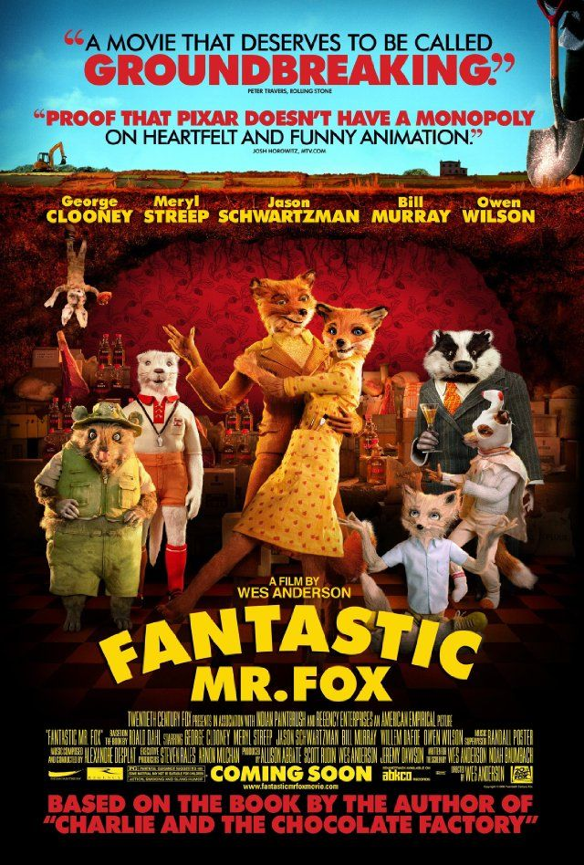 Fantastic Mr. Fox #goodmovies | Good movies | Pinterest