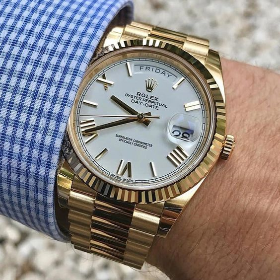 ROLEX DAY-DATE LUXURY WATCHES COLLECTION