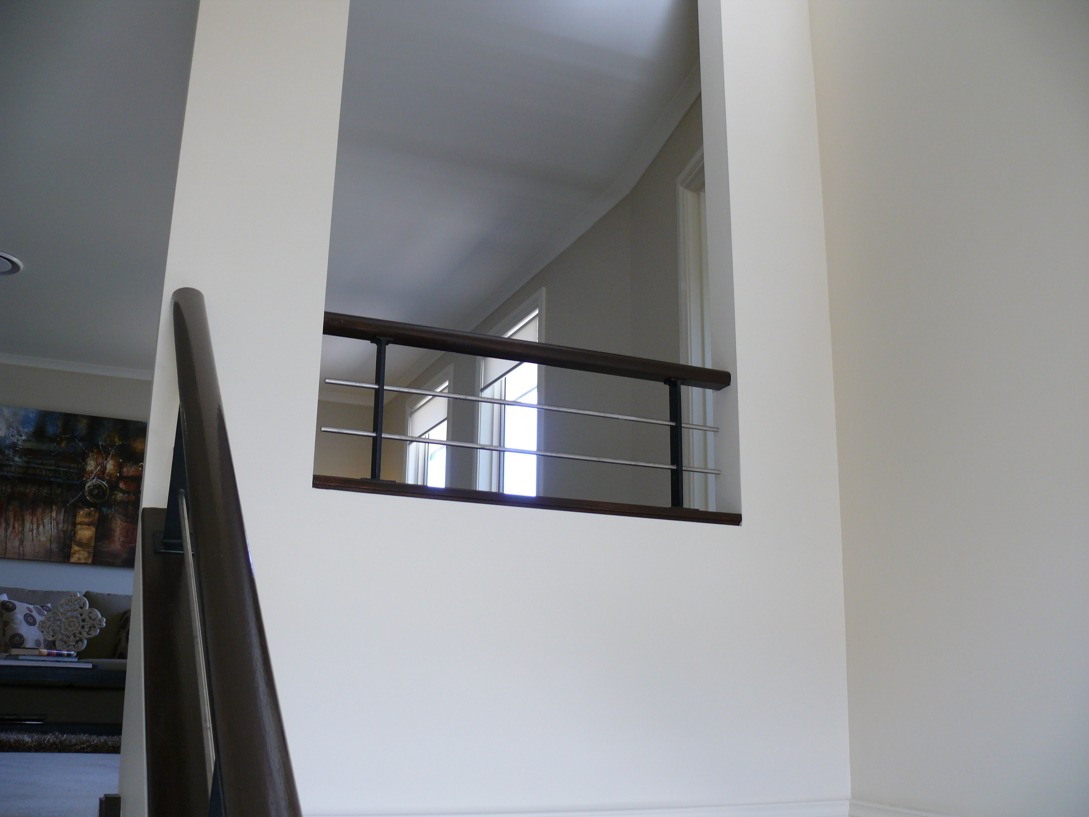 Best Timber Handrail Stainless Steel Rails And Metal Powder Coated Black Posts Stairs Stainless 400 x 300