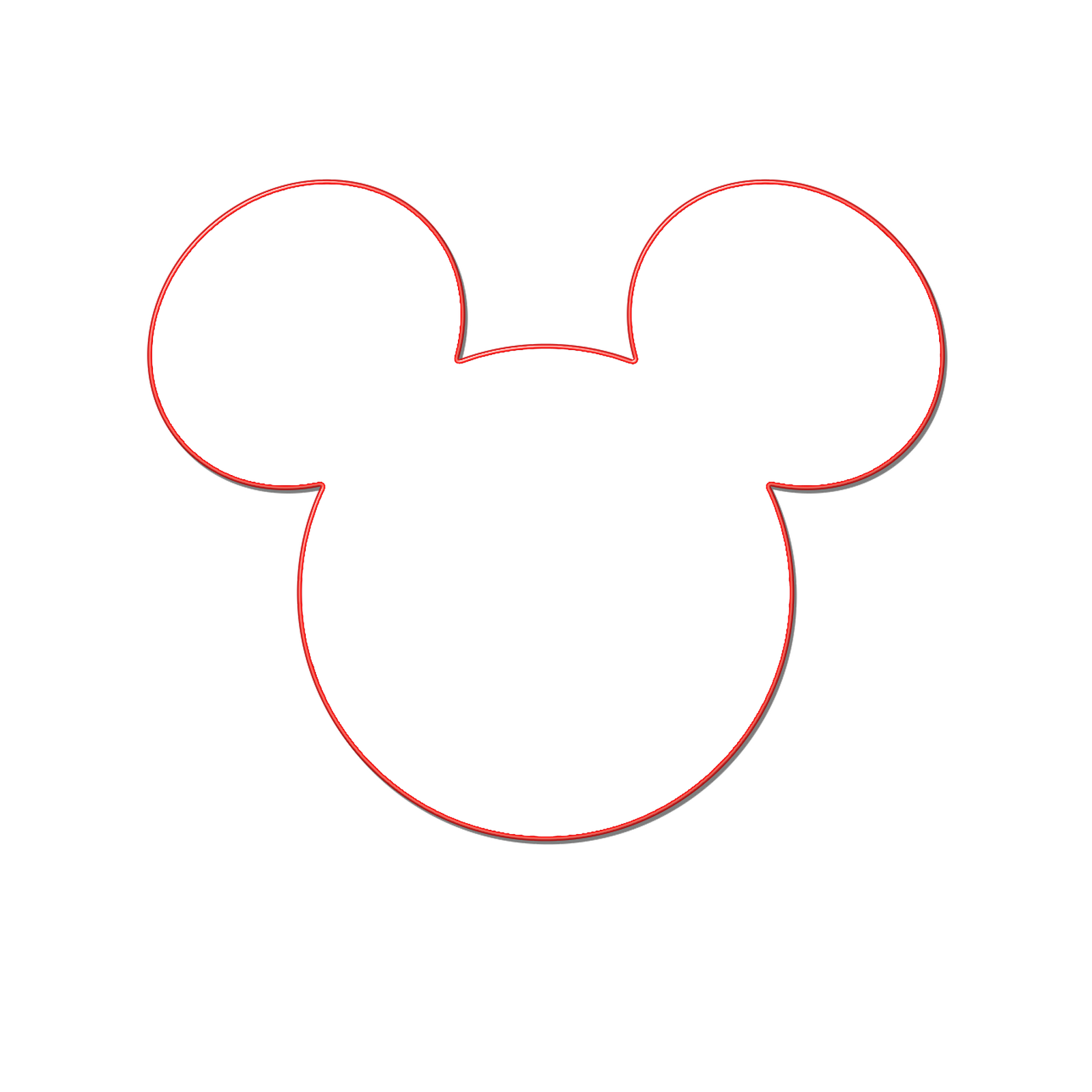 Milliepie S Musings Making Your Own Mickey Head Disney Cruise Door Decorations Mickey Mouse Silhouette Disney Cruise Magnets