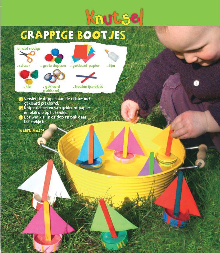 Fabriquer Un Bateau Avec Des Bouchons En Plastique Creations De Maternelle Jeux A Fabriquer Creations Estivales