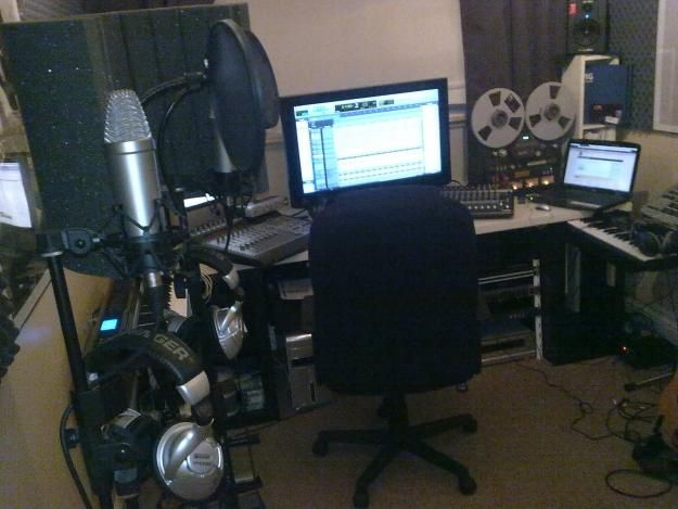 Home Recording Studio Setup Design Ideas Pinterest