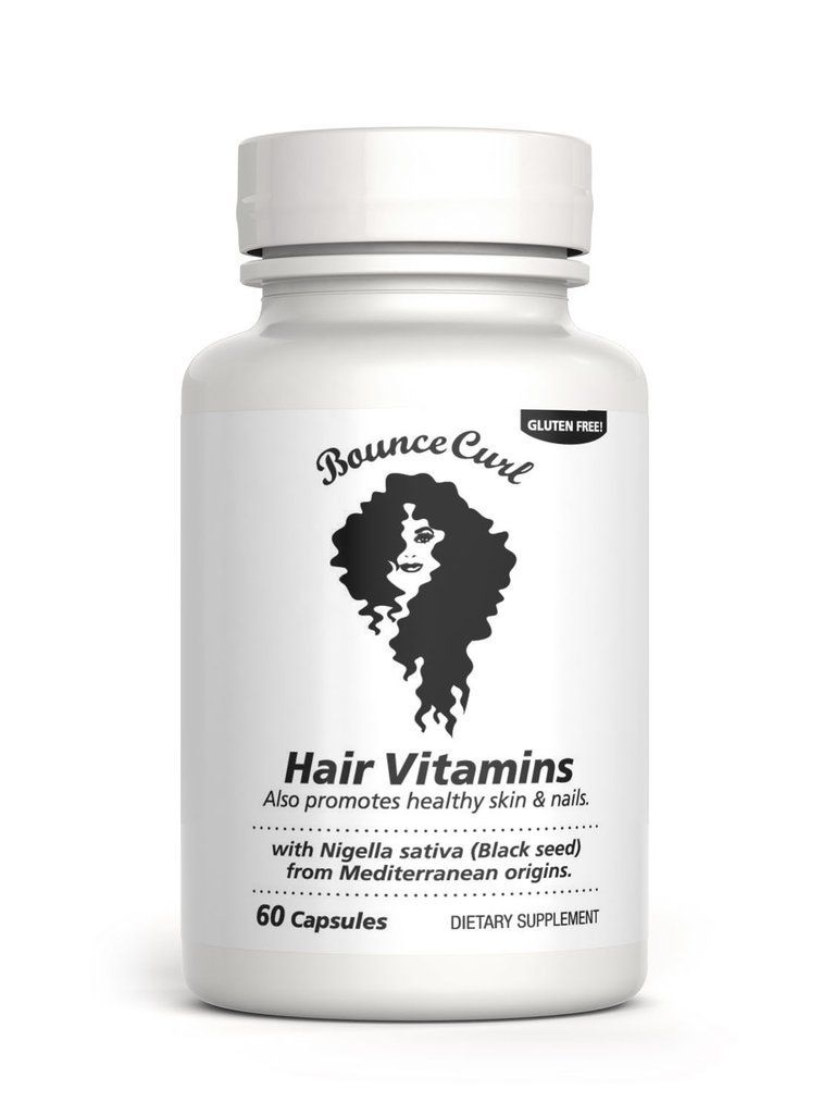 Bounce Curl Hair vitamins with Black Seed Oil HairVitamins  Hair