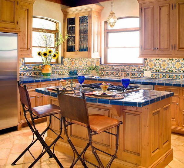 Tile Countertops Make A Comeback