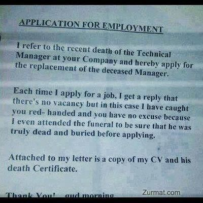 Job application ✓ Funny Pinterest Funny things, Humor and