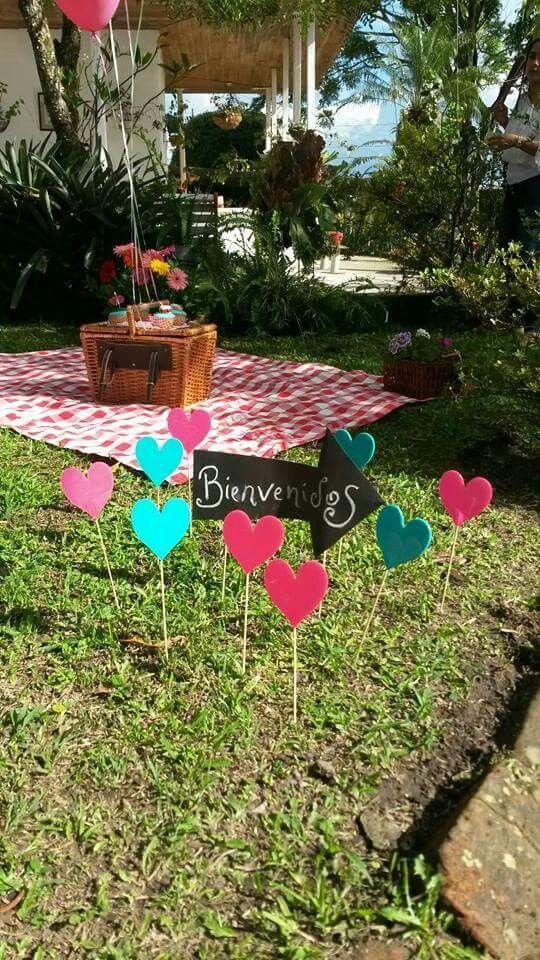 Picnic Cumpleaños Fiestas Picnic Para Niños Cumpleaños Niños Decoracion Cumpleaños Niña