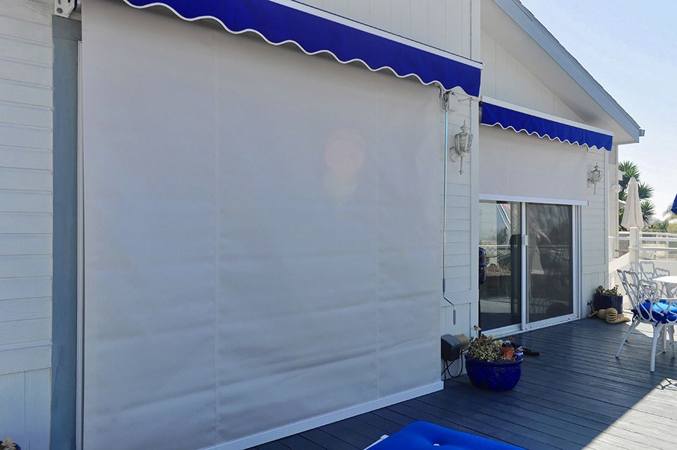 Manual Roll Down With Retractable Awning Commercial Canopy Patio Awning Retractable Awning