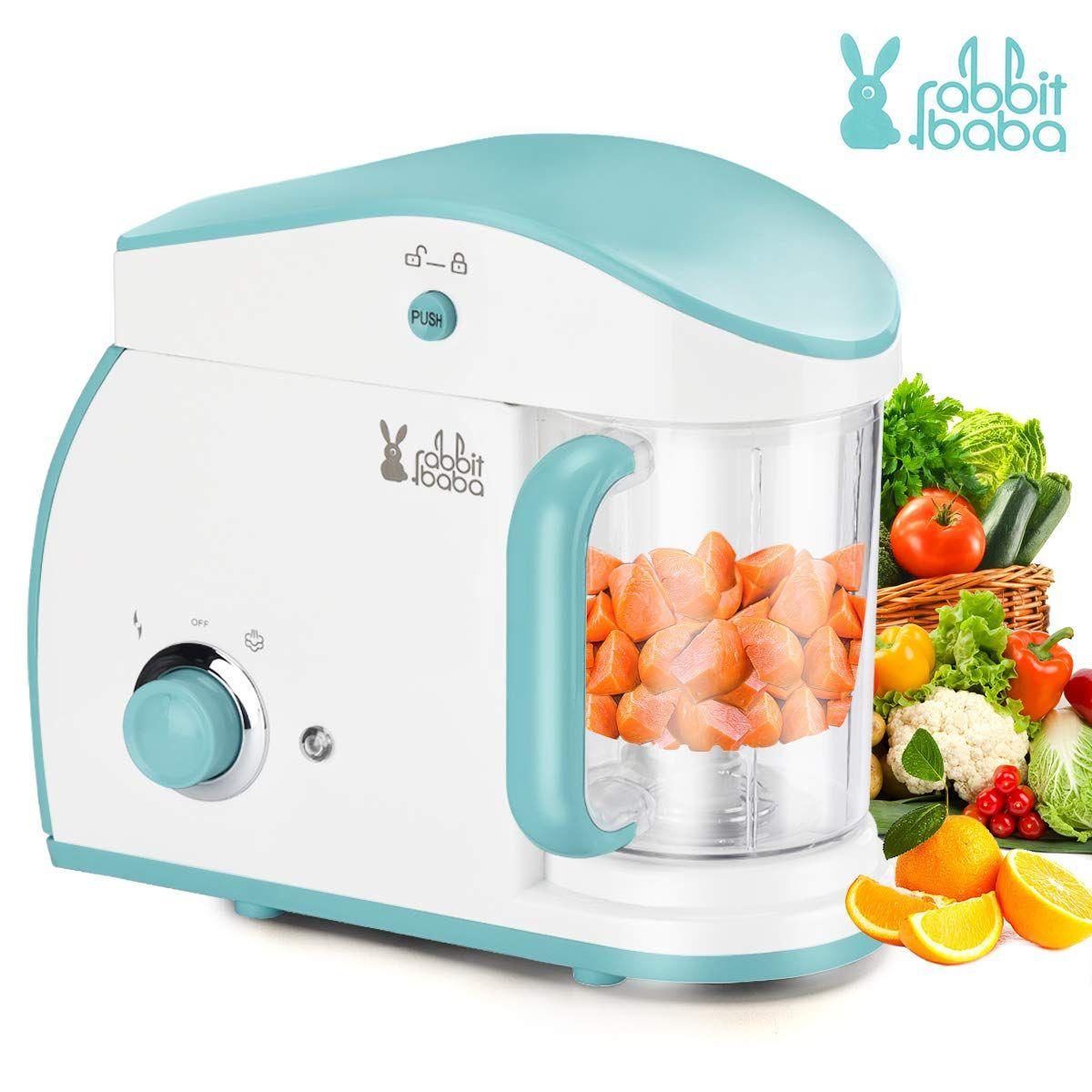 Rabbit Baba Baby Food Maker Fashion Look Baby Food