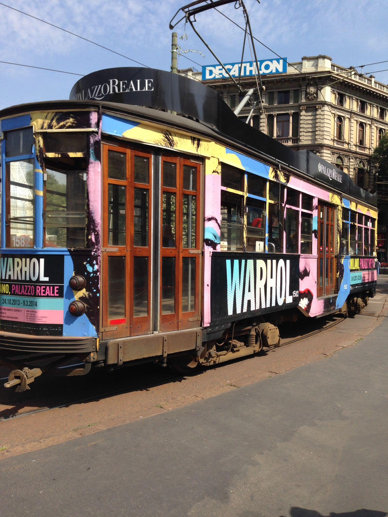 Tram....a Milano; antico!